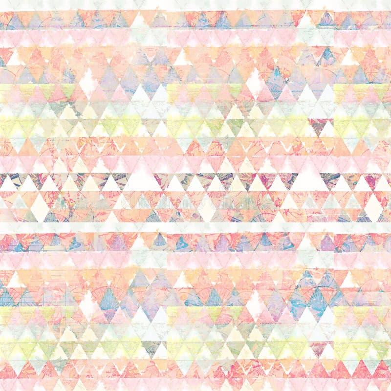 金刚石几何旗子多彩多姿的抽象背景 免版税库存图片