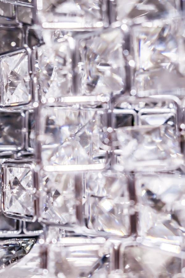 金刚石和水晶,豪华织地不很细背景 图库摄影