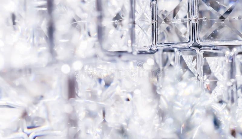 金刚石和水晶,豪华织地不很细背景 库存照片