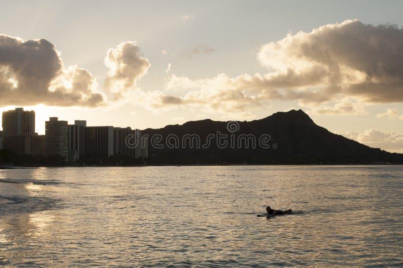 金刚石夏威夷题头 免版税图库摄影