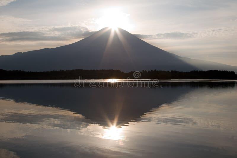 金刚石富士ii 库存图片
