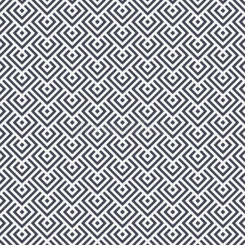 金刚石方形的形状交叠其中每一,传染媒介样式背景 皇族释放例证