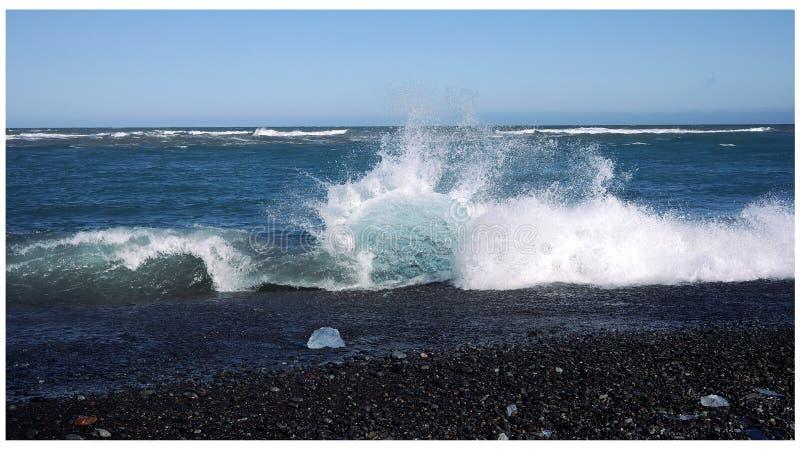 金刚石海滩 库存图片