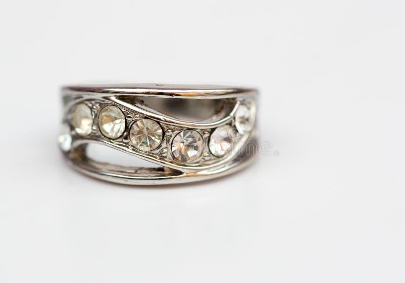 金刚石珠宝环形 库存图片