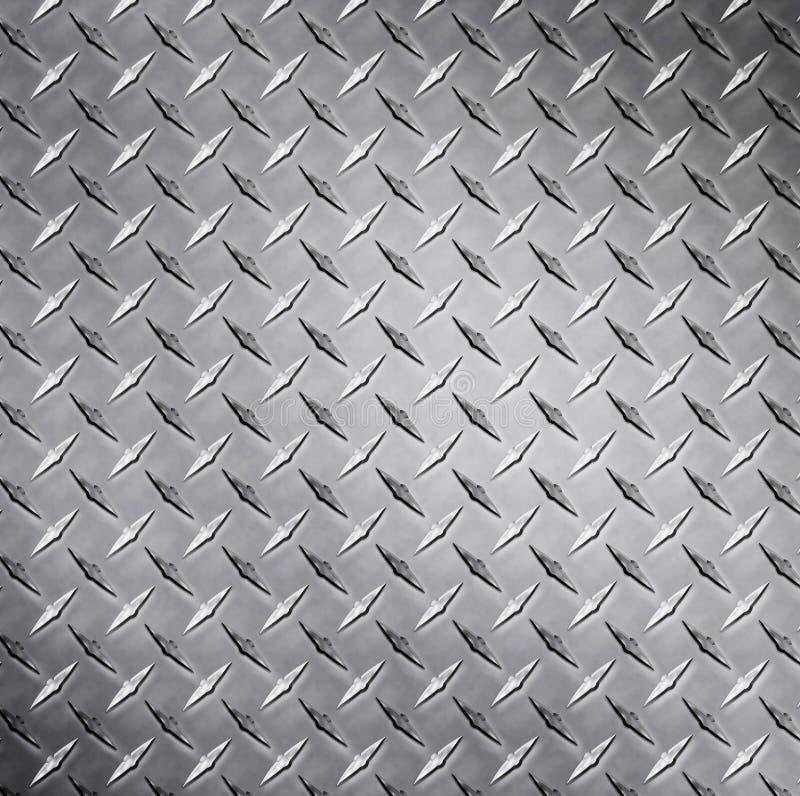 金刚石金属纹理 库存图片