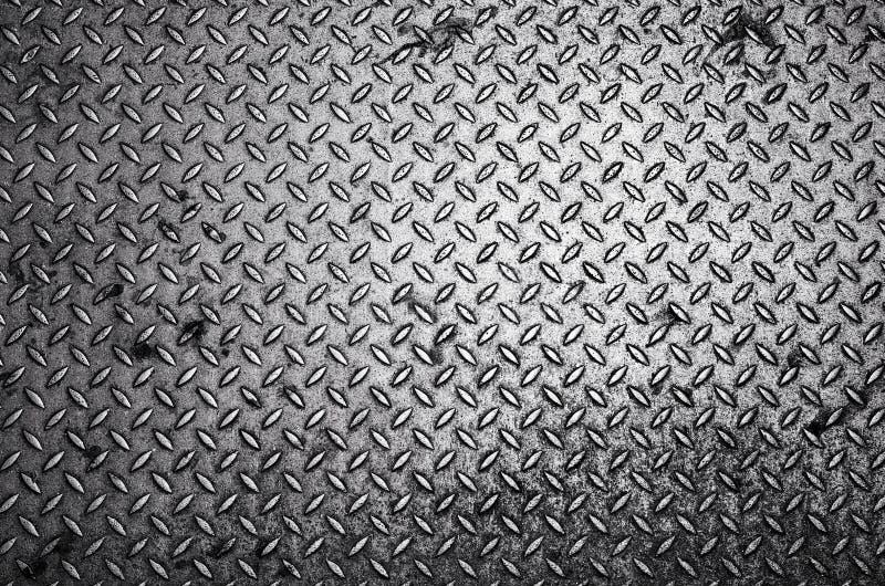 金刚石钢板背景 免版税库存图片