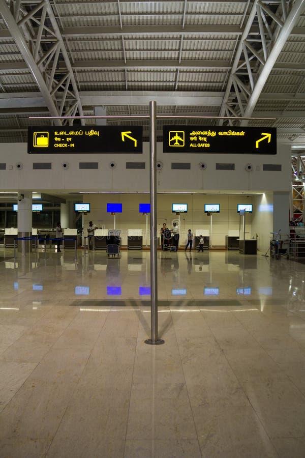 金奈,泰米尔纳德邦,印度- 4月 28 :路标4月 28, 2014年在金奈,泰米尔纳德邦,印度 免版税图库摄影