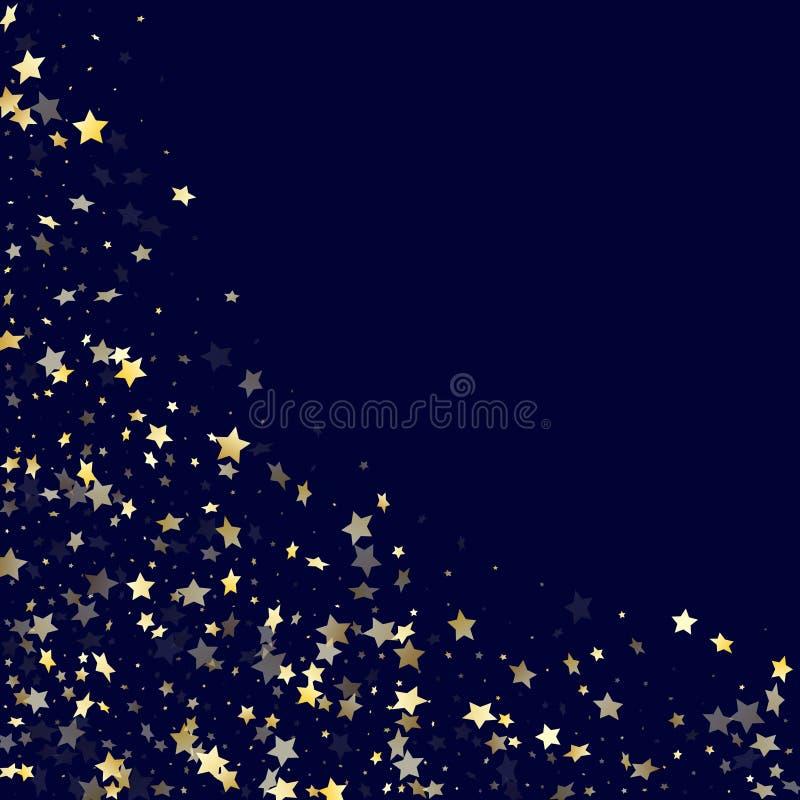金子梯度星团闪闪发光传染媒介背景 皇族释放例证