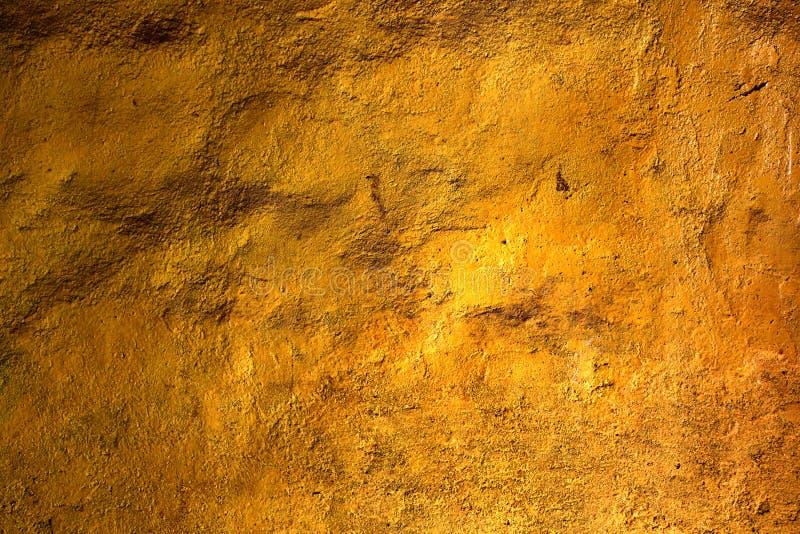 金子纹理墙壁 库存图片