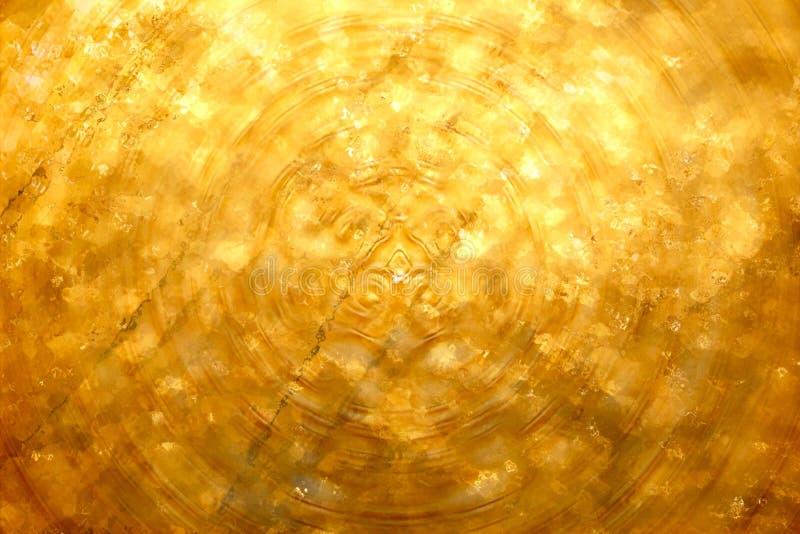 金子纹理摘要背景 免版税图库摄影