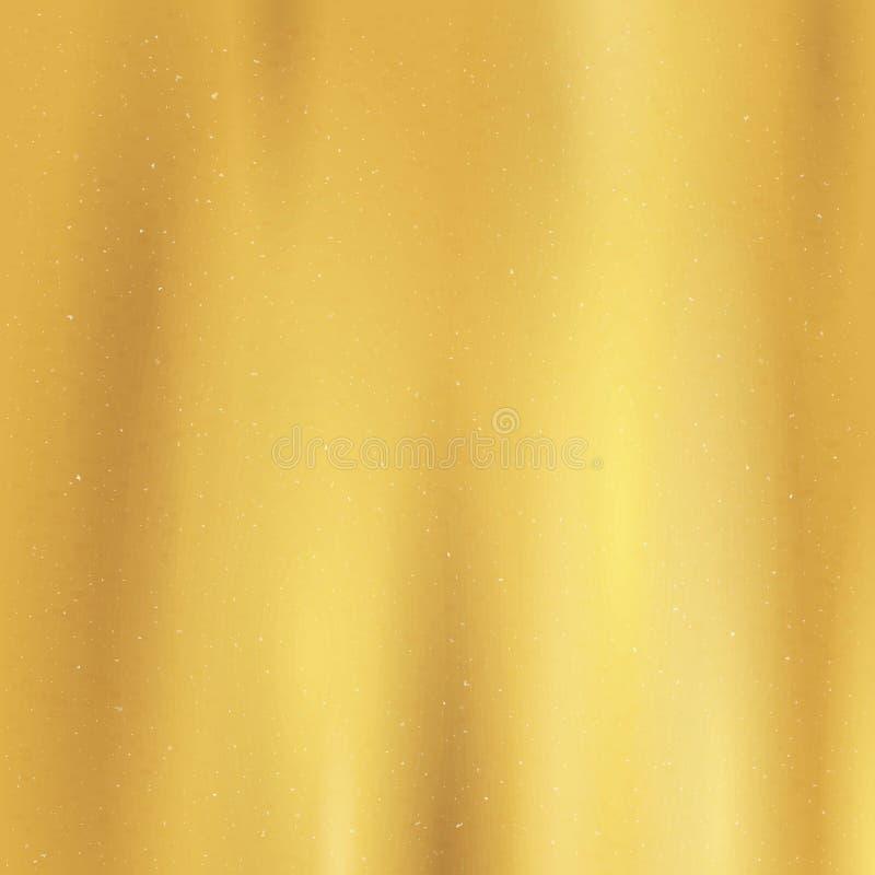 金子纹理织品样式 发光,金属梯度模板 金横幅的装饰设计 v 皇族释放例证