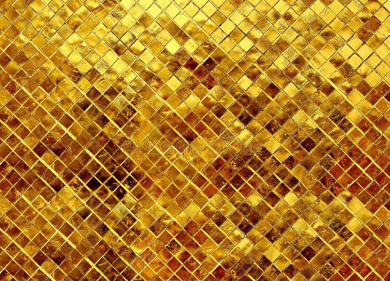 金子纹理闪烁 免版税库存图片