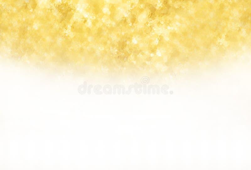 金子纹理闪烁 免版税库存照片