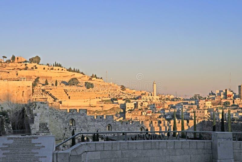 金子耶路撒冷 图库摄影