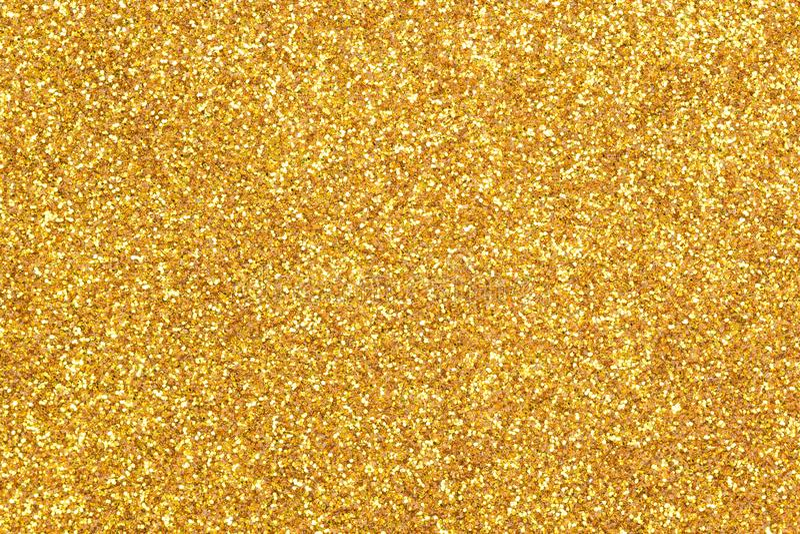金子闪烁纹理背景 免版税库存照片