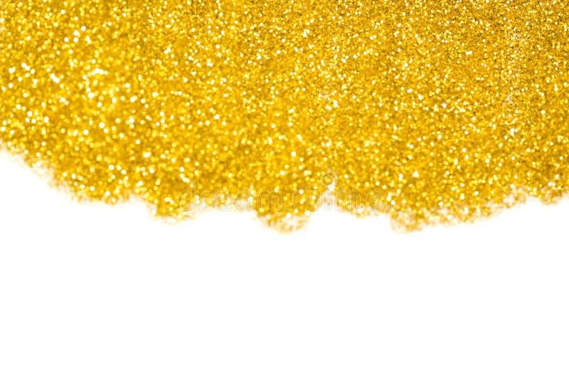金子闪烁 库存图片
