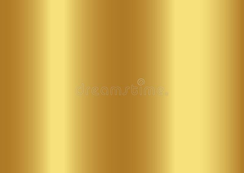 金子颜色抽象背景,传染媒介例证 向量例证