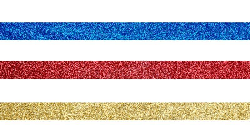 金子,红色和最高荣誉 免版税库存图片