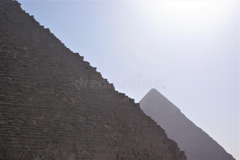 金字塔外形 库存图片