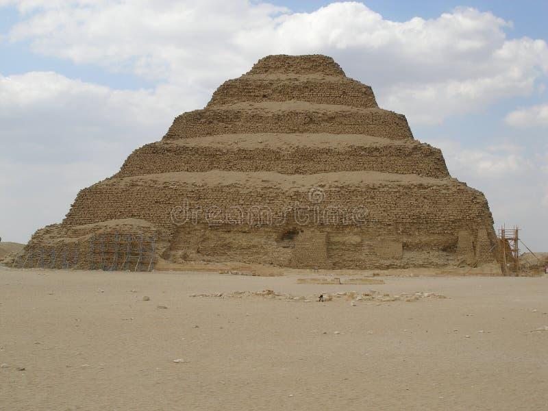 金字塔步骤 免版税库存照片