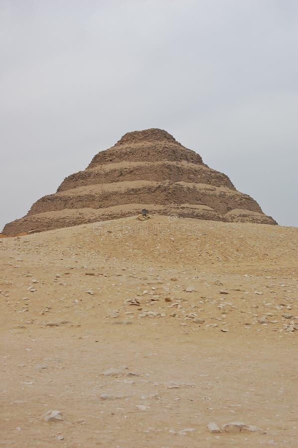 金字塔步骤 免版税库存图片