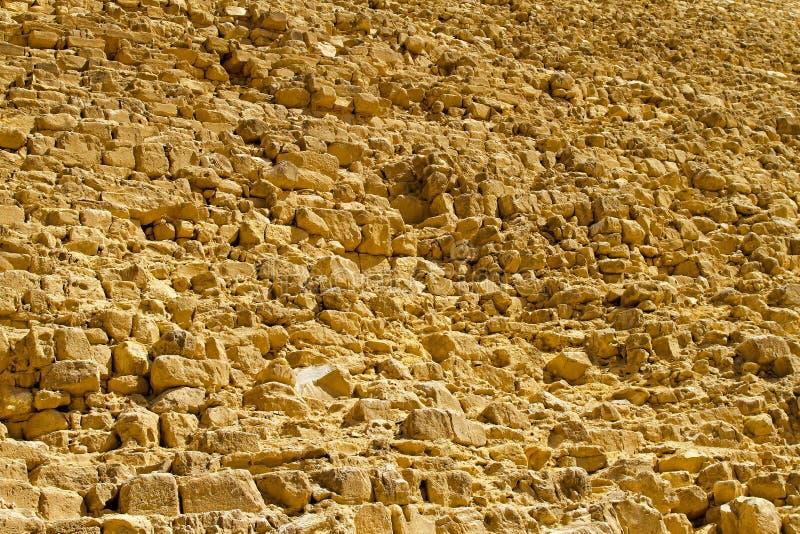 金字塔石头 库存照片