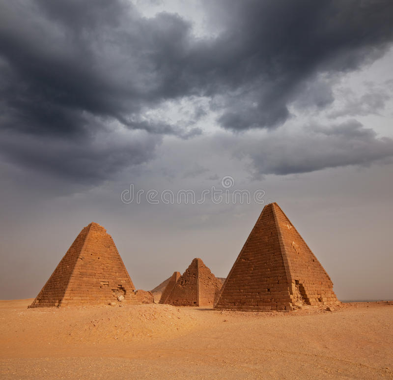 金字塔苏丹 库存图片
