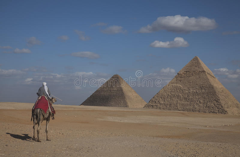 金字塔,埃及 图库摄影