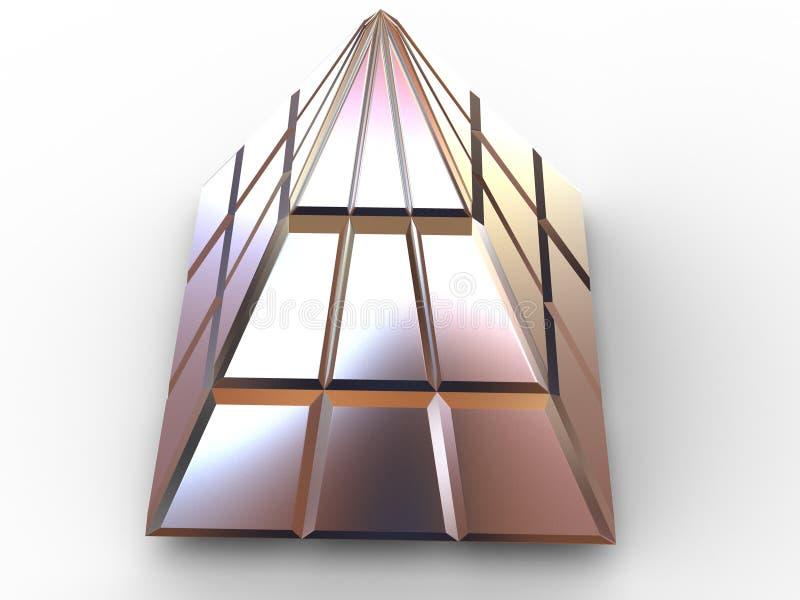 金字塔 皇族释放例证