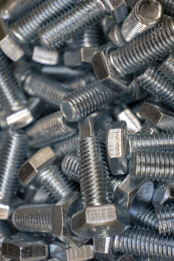 金属为铁和木零件的连接闩上 图库摄影