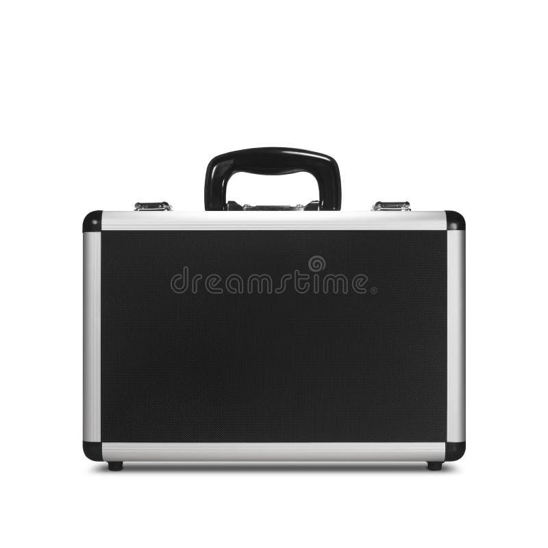 金属公文包 免版税图库摄影