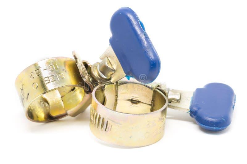 金属和合金水管皮带 免版税库存图片
