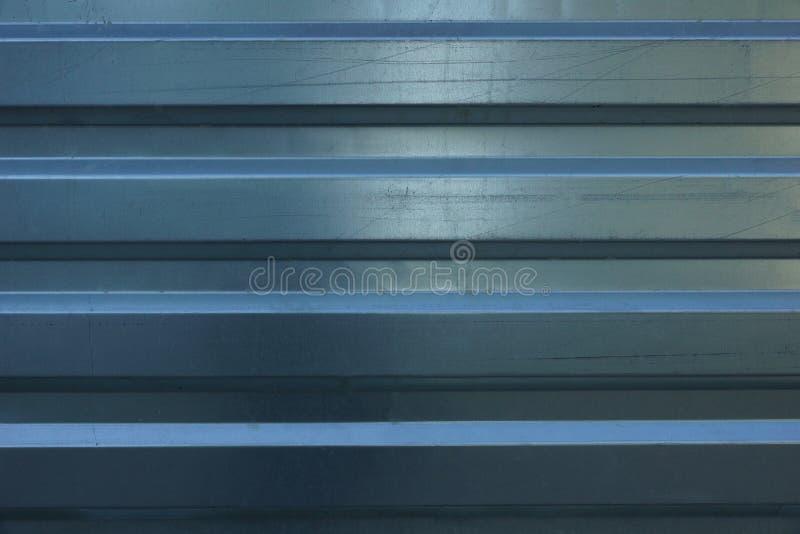 金属外形纹理背景 在constructio的金属篱芭 免版税图库摄影