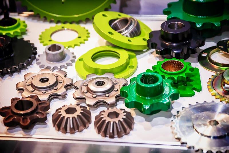 金属嵌齿轮轮子 图库摄影