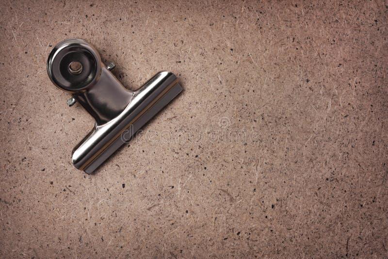 金属弹簧夹 免版税库存照片