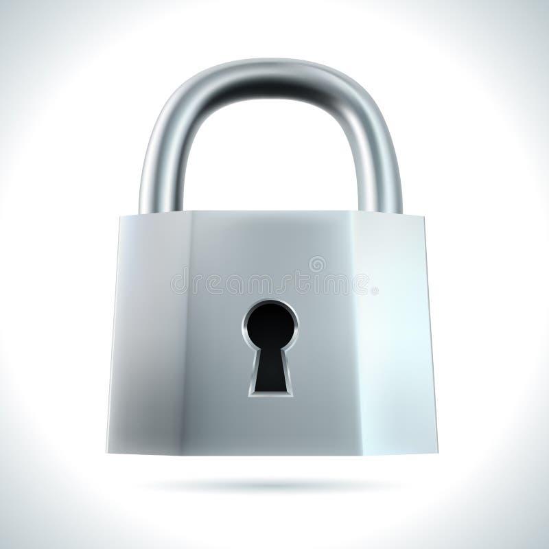 金属挂锁 库存例证