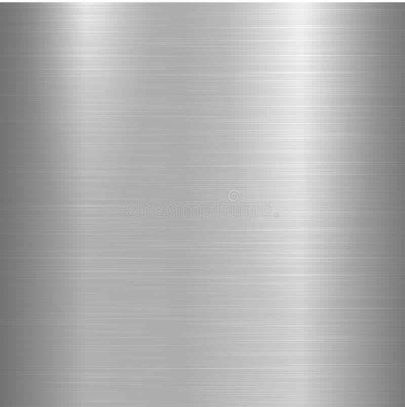 金属掠过的纹理 向量例证