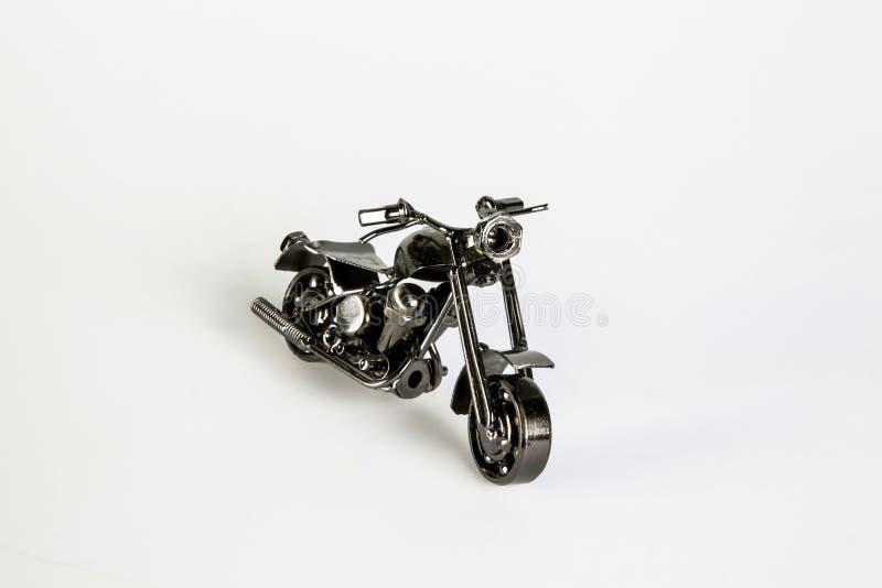 金属摩托车 库存图片