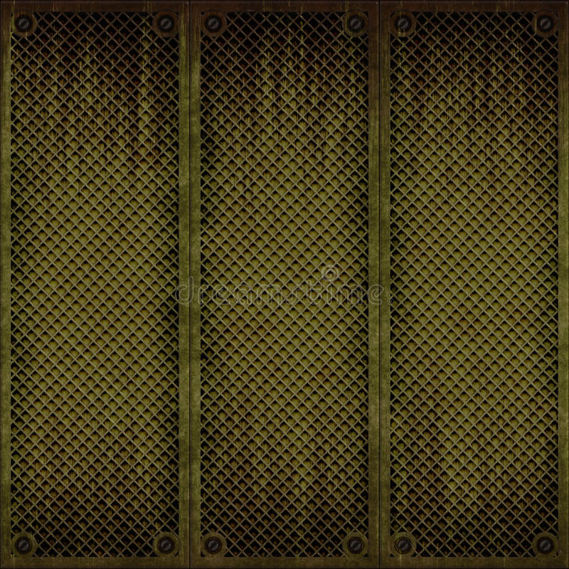 金属无缝盘区的纹理 皇族释放例证