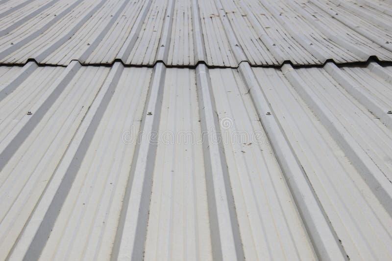 金属板屋顶 库存图片