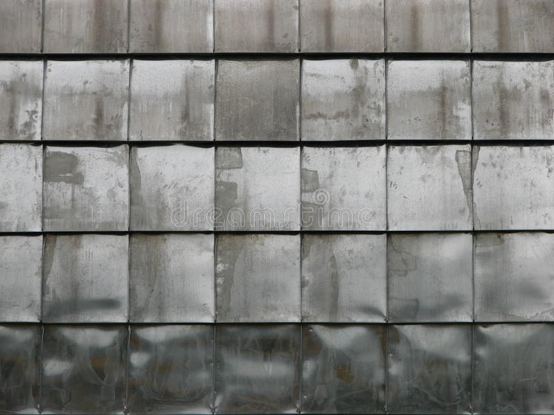 金属板铺磁砖 免版税库存照片
