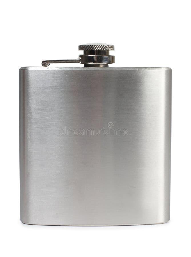 金属烧瓶 免版税库存图片