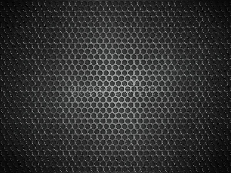 金属片反映纹理 向量例证