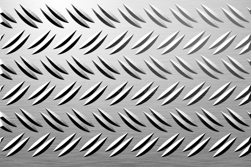 金属片 向量例证