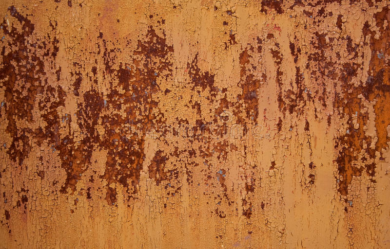 金属生锈的纹理 库存照片