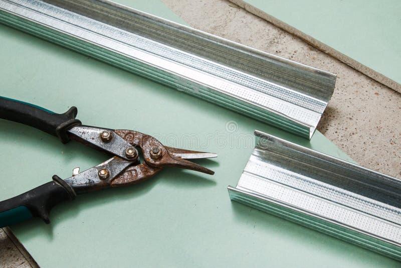金属的剪刀 免版税图库摄影