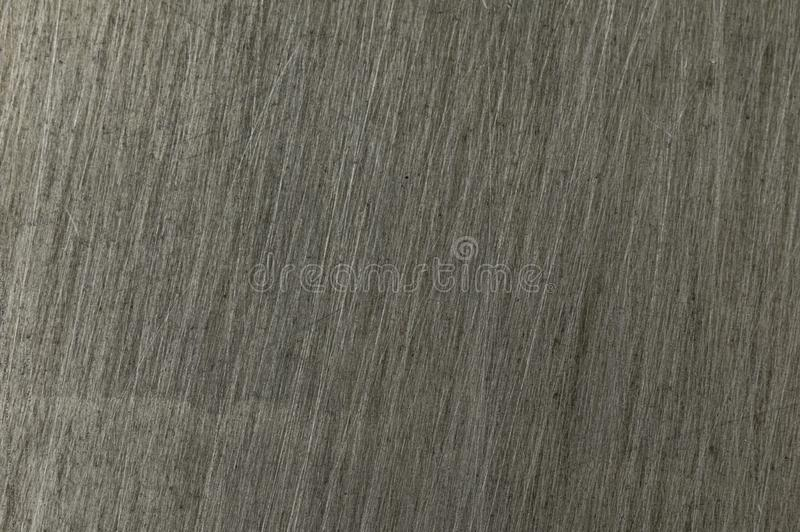 金属的纹理在抓痕的是灰色的 库存图片