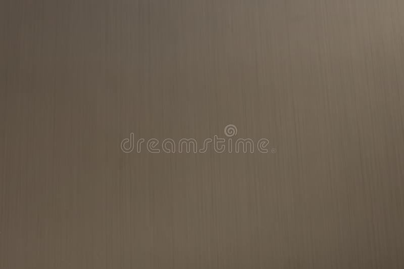 金属的纹理是不锈钢,当树荫,反射表面,纵向条纹 免版税库存照片