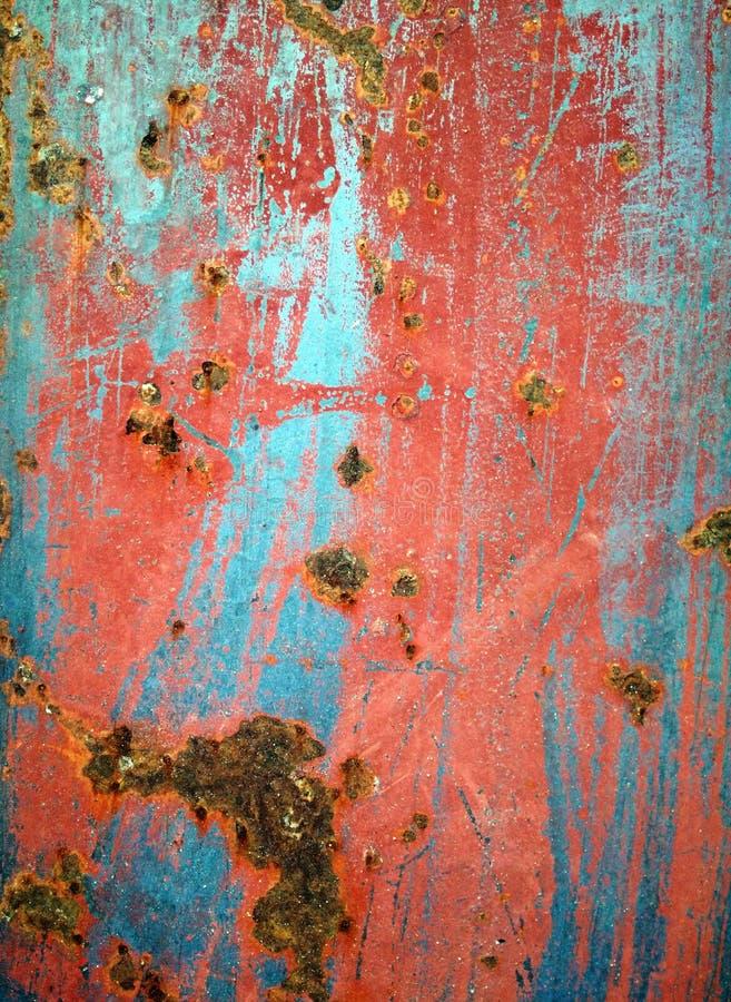 金属的颜色 免版税库存图片
