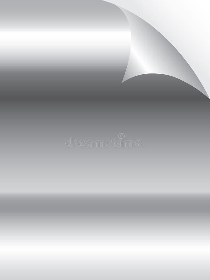 金属纸表面 皇族释放例证